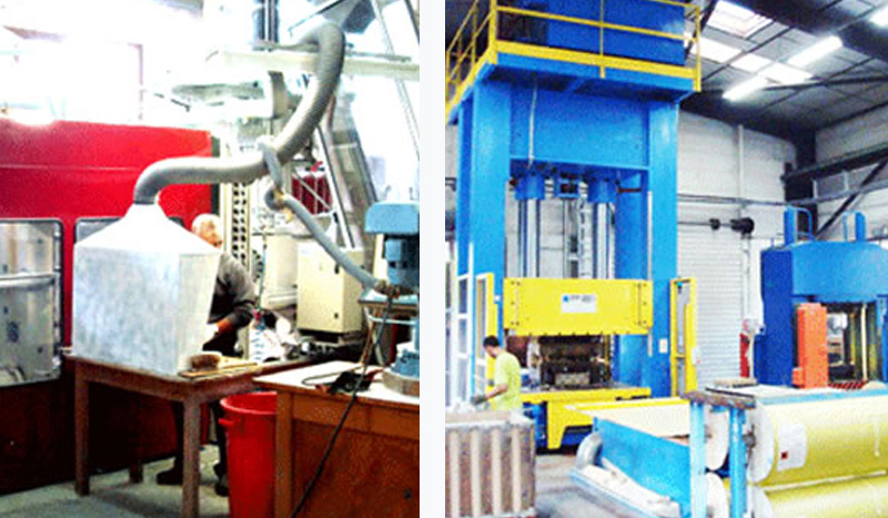 Machines injection thermodurcissable