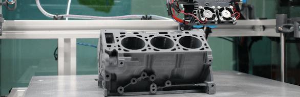 Imprimante 3D en cours d'utilisation